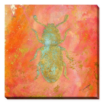 BY Jodi Beetle Bug 24-Inch x 24-Inch Canvas Wall Art