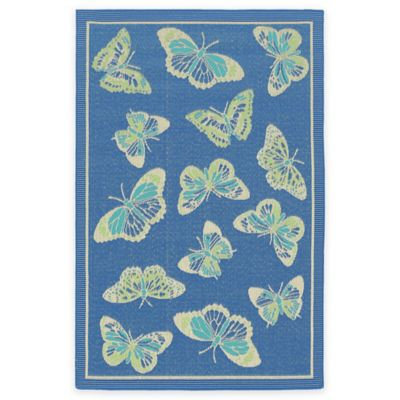 Buy Butterfly Rugs From Bed Bath Amp Beyond