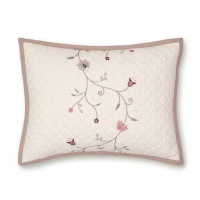 Nostalgia Home™ Jackson King Pillow Sham in Ivory/Taupe
