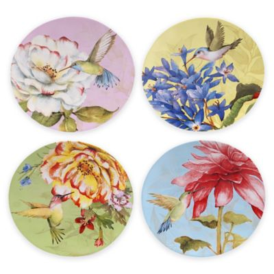 Certified International Canapé Plates (Set of 4)