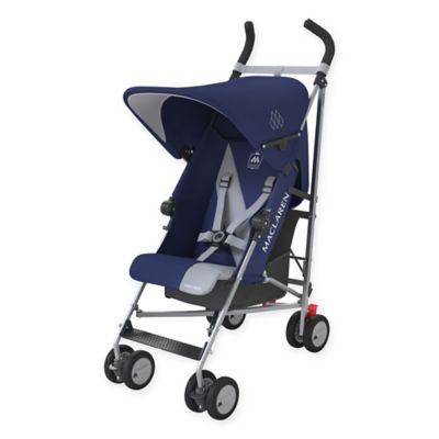 Maclaren® Triumph Stroller in Medieval Blue/Silver