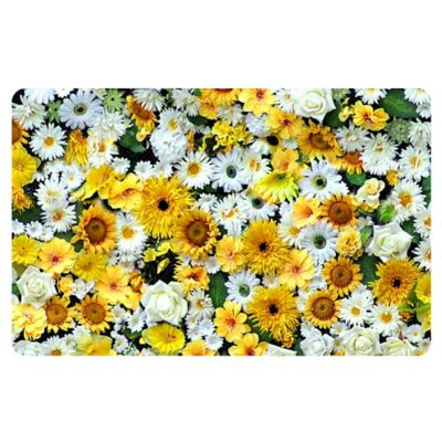 The Softer Side by Weather Guard™ 23-Inch x 36-Inch Garden Flowers Kitchen Mat
