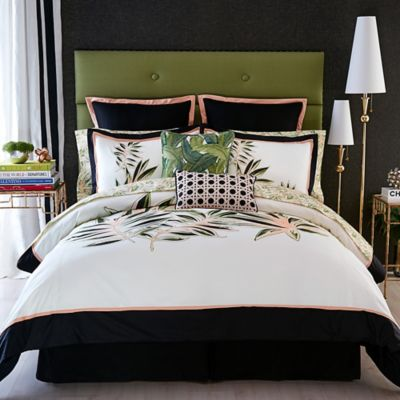 Christian Siriano Tropical Paradise King Comforter Set