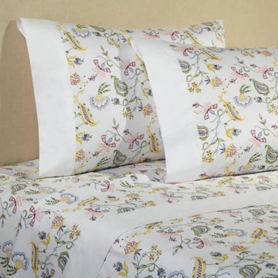 Downtown Company Madelyn Floral Queen Sheet Set