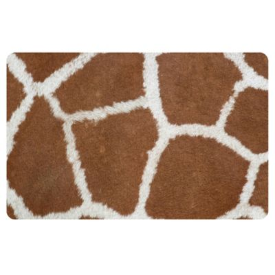 The Softer Side by Weather Guard™ 23-Inch x 36-Inch Giraffe Kitchen Mat