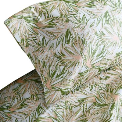 Christian Siriano Tropical Paradise 200-Thread-Count King Sheet Set
