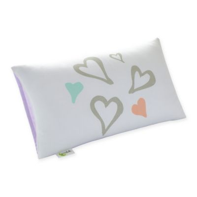 Greenbuds Abstract Affection Organic Cotton Toddler Pillow Cover