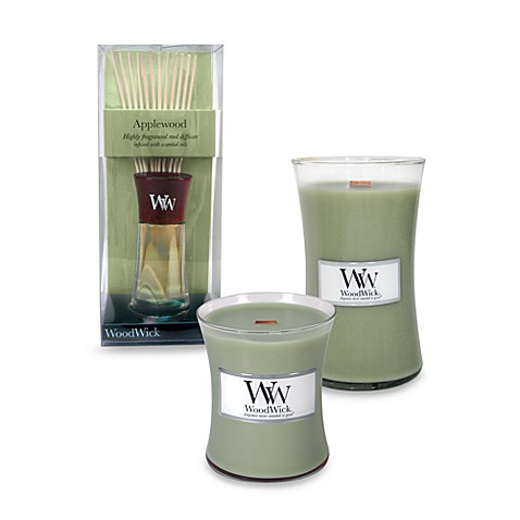WoodWick® Applewood 10-Ounce Jar Candle