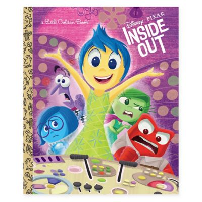 """Inside Out"" Little Golden Book by RH Disney"