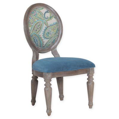 Powell Verona Paisley Chairs in Oak (Set of 2)