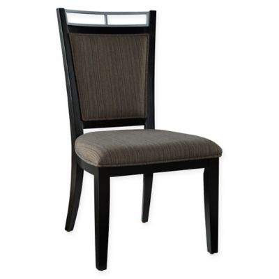 Powell Caden Side Chair in Burnt Sienna