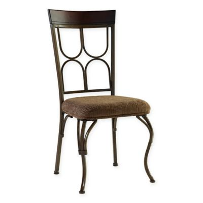 Powell Coleman Side Chair in Espresso