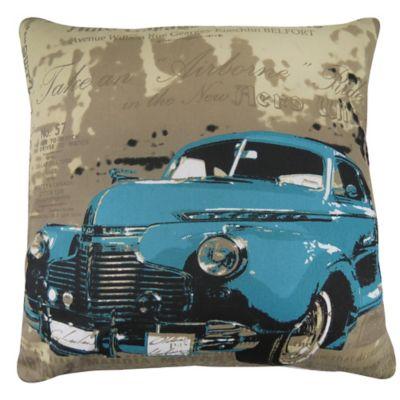 Park B. Smith® Vintage House Vintage Tours Square Throw Pillow