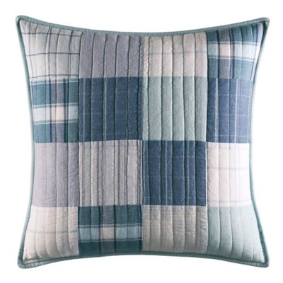 Nautica® Aldrin Square Throw Pillow in Blue