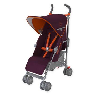 Maclaren® 2016 Quest Stroller in Plum/Marmalade