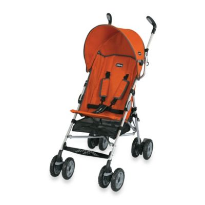 Lightweight Strollers > Chicco® Ct 0.6 Comfort Travel Stroller in Tangerine