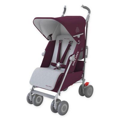 Maclaren® Techno XLR Stroller in Plum/Silver