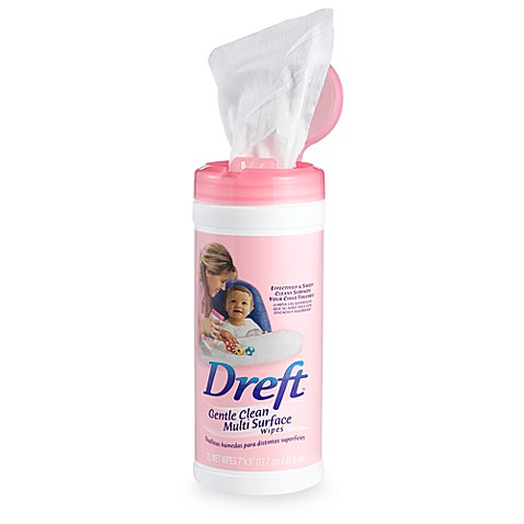 Dreft Gentle Clean Multi-Surface Wipes (35-Count)