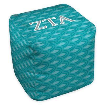 Designs Direct Zeta Tau Alpha Greek Ottoman