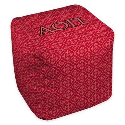 Designs Direct Alpha Omicron Pi Greek Ottoman