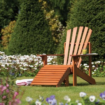 Bosmere Rowlinson Adirondack Chair and Ottoman