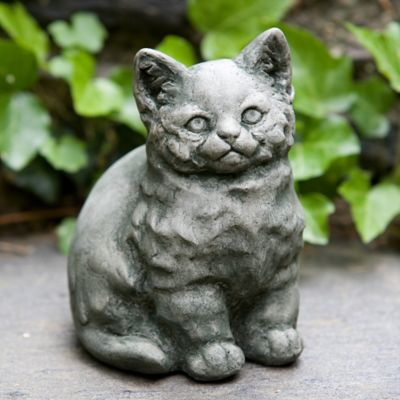 Campania Kitty Garden Statue in Alpine Stone