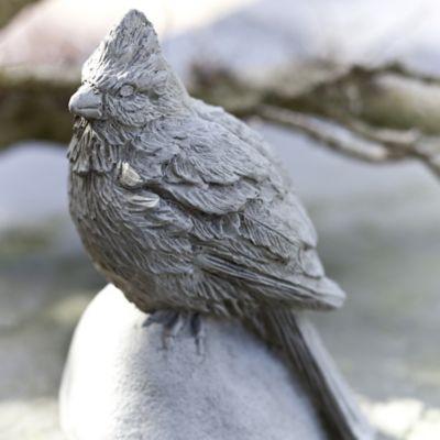 Campania Cardinal Garden Statue in Alpine Stone
