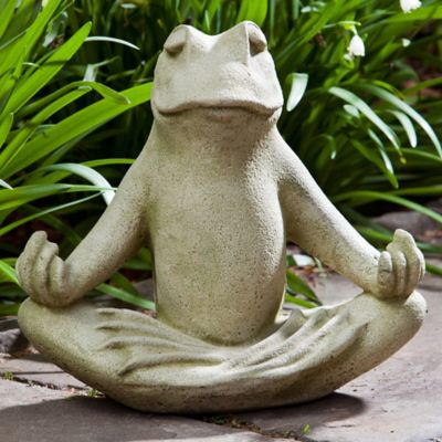 Campania 12-Inch Totally Zen Too Statue in English Moss
