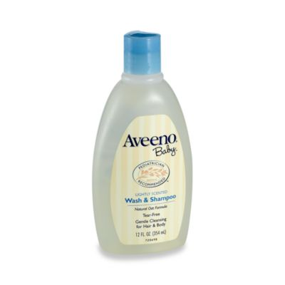 Aveeno® 12-Ounce Baby Wash And Shampoo