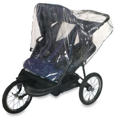 Comfy Baby Double Jogging Stroller Rain Cover - from JPS