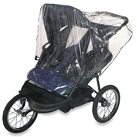 Buy Comfy Baby Double Jogging Stroller Rain Cover From Bed