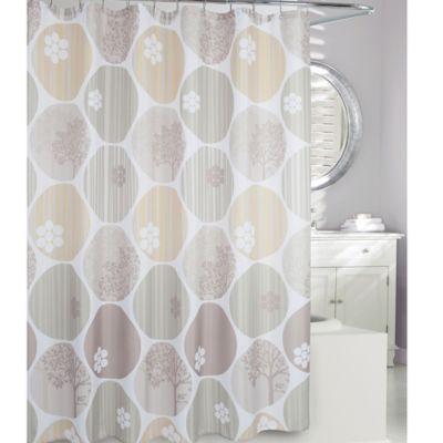 Expose Fabric Shower Curtain