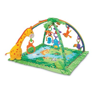 Fisher-Price® Rain forest™ Melodies & Lights Deluxe Gym™ - from Fisher Price