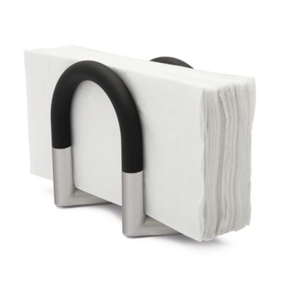 Buy black napkin holders from bed bath beyond for Bathroom napkin holder