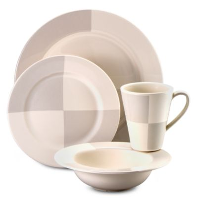 Nautica® Arctic White 4-Piece Dinnerware Place Setting