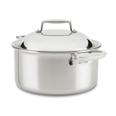 All-Clad d7 Stainless Steel 8 qt. Covered Round Oven