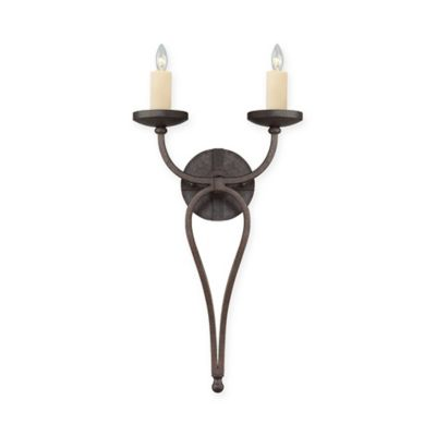 Savoy House Elba 2-Light Wall Sconce in Oiled Copper