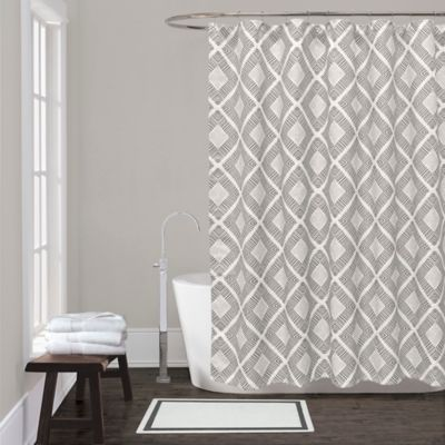 Lamont Home™ Equinox Shower Curtain in Grey