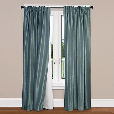 smartblock rod pocket insulating blackout curtain liner. Black Bedroom Furniture Sets. Home Design Ideas