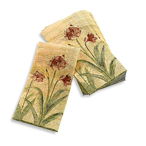 Buy croscill amaryllis guest towel from bed bath beyond - Disposable guest towels for bathroom ...