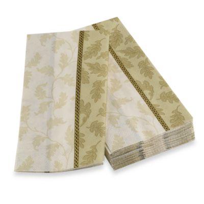 Foliole Cream Guest Towel