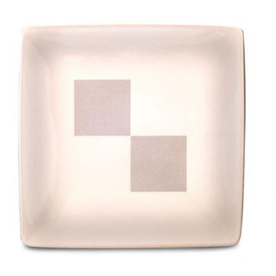 Nautica® Arctic White 9-Inch Square Platter