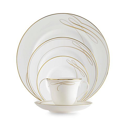 Waterford® Ballet Ribbon Gold Dinnerware