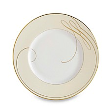 Waterford® Ballet Ribbon Gold 8 3/4-Inch Accent Plate