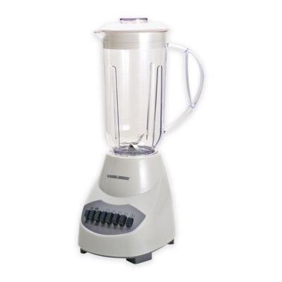 Black & Decker™ 10-Speed 6-Cup Blender in White