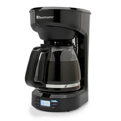 Toastmaster K Cup Coffee Maker Reviews : Toastmaster 12-Cup Programmable Coffee Maker in Black ...