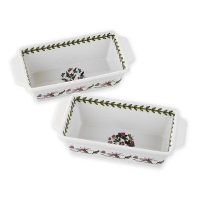 Portmeirion® Botanic Garden Rectangular Baking Dish (Set of 2)