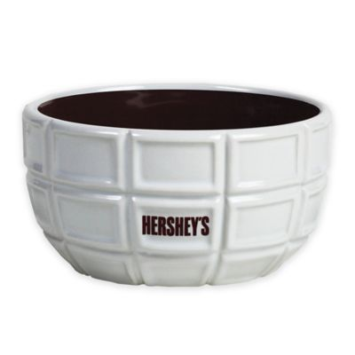 Hershey's by Fitz and Floyd® Pip Candy Dish in Maroon/White