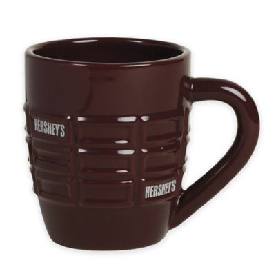 Hershey's by Fitz and Floyd® Pip Molded Mug in Maroon