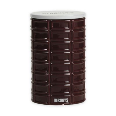Hershey's by Fitz and Floyd® 7-Inch Pip Canister in Maroon
